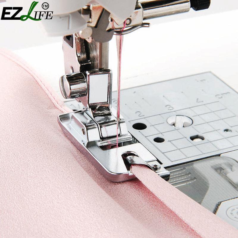 1 шт. многофункциональная бытовая швейная машина свернутый подол для ног опрессовка для ног для Brother Singer Швейные аксессуары