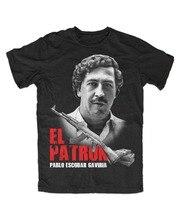2019 été T-Shirt hommes o-cou T-Shirt El Patron Pablo T-Shirt Kult Crime drogues Kolumbien, Escobar Cool t-shirts
