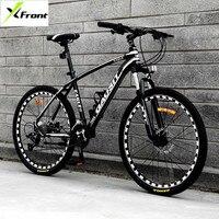 New Mountain Bike Aluminum Alloy Frame 26 inch Wheel Hydraulic Disc Brake SHIMAN0 30 Speed Bicycle Outdoor Sports MTB Bicicleta