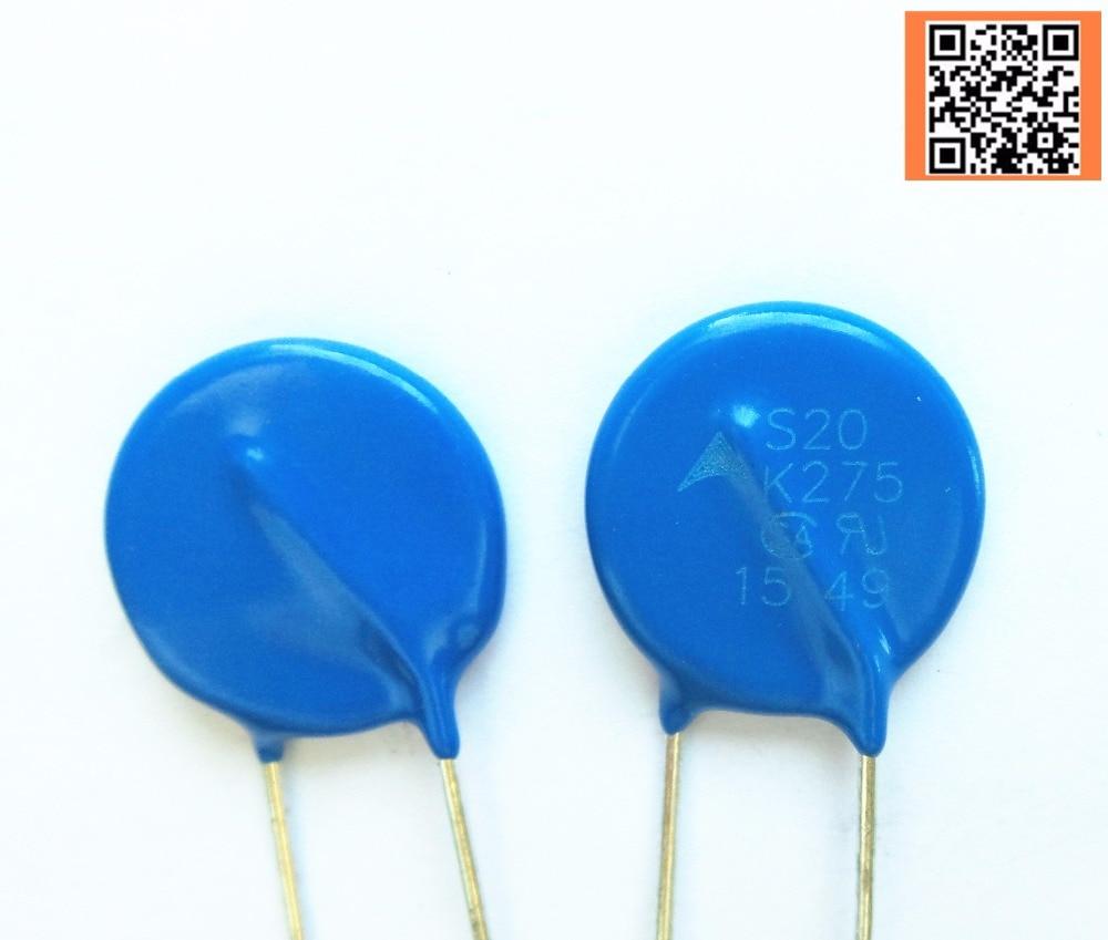 4 шт./лот S20K275 Варистор 430V 12KA диск 20 мм B72220P3271K101