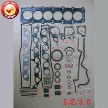 Ensemble complet de joints pour moteur 2JZ 2JZGE   kit de joints pour Toyota Supra/couronne LEXUS GS 300 3,0l 2997cc 1991-2002 04111-46064 01-10013
