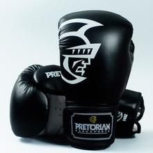 PRETORIAN 10-16 OZ MUAY THAI jumeaux en cuir PU gants de boxe pour hommes femmes formation en