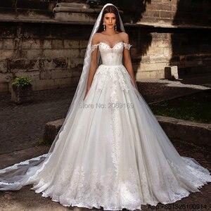 Vestido De Noiva 2020 Bridal Gown Ball Gown Sexy Vintage Lace UP Wedding Dresses Turkey Hippie Wedding Dress