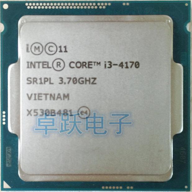 Original Intel Core i3-4170 3,7 GHz Quad-Core SR1PL I3 4170 CPU procesador cpu de escritorio