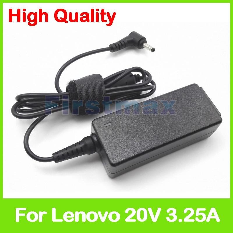 Cargador adaptador de CA para ordenador portátil 20V 3.25A para Lenovo Flex 5-1470 5-1570 520-15IKB 520S-14IKB 520S-14ISK