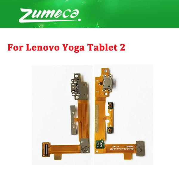 Para Lenovo YOGA TABLET 2 1051F puerto de carga de YT2-1050 Cable Flex 1 unids/lote