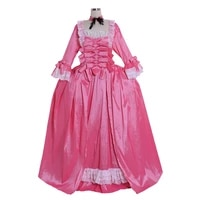 cosplaydiy custom made marie rococo antoinette cosplay ball gown 18th century masquerade pink cosplay dress l320