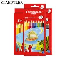 STAEDTLER 12/24/36 צבעים צבע עפרונות סט Matite Colorate עפרונות קשת עיפרון עפרון דה Couleur ציור עפרונות