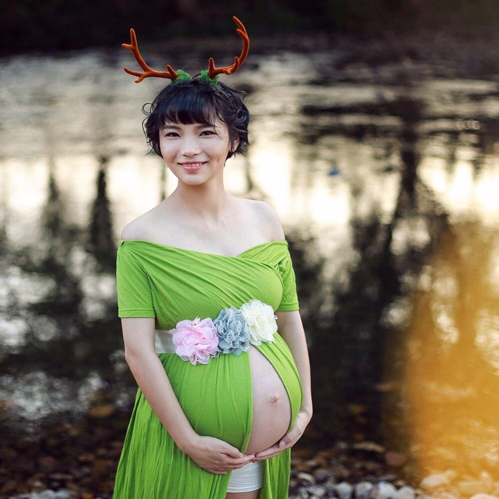 Fajín de flores de gasa para dama de honor, accesorio de fotografía para bebé, ducha de niña, encaje de color marfil, cinturón de flores, accesorios para boda, D