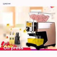BOZY-01G Oil presser Household Oil press machine for Peanut/ walnuts/ almonds with heating 530W Peanut Oil pressers 110V/220V