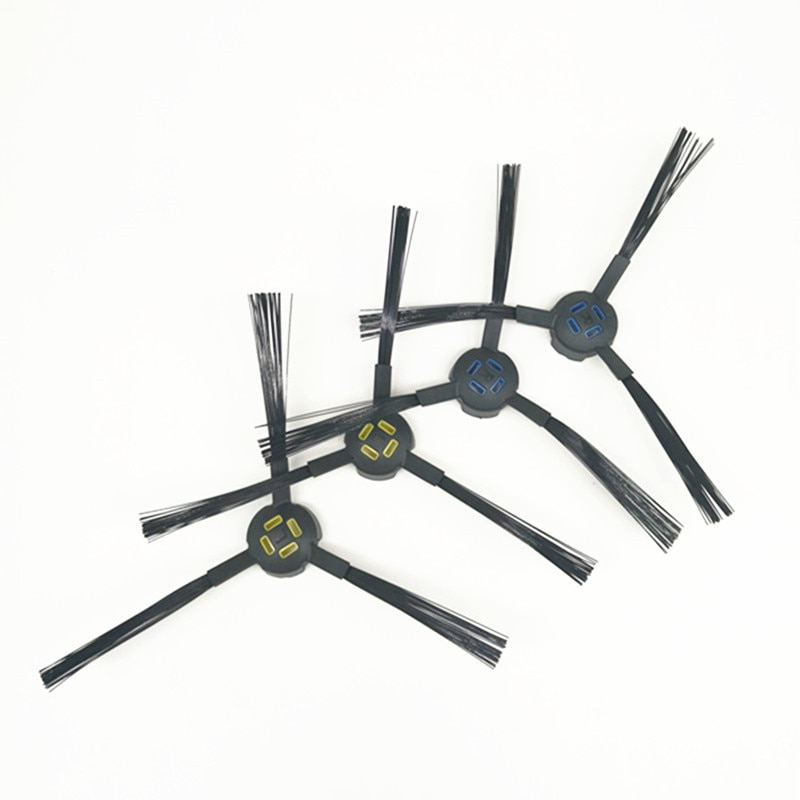 Kit de cepillo lateral de 2 pares para piezas de aspiradora robótica ILIFE X750 V8S V80 V8