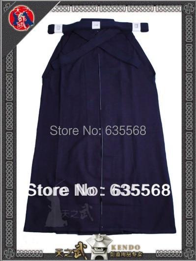 Top qualité 6000 # 100% coton Shoaizome bleu marine Kendo Iaido Aikido Hakama Arts martiaux uniforme Sportswear livraison gratuite