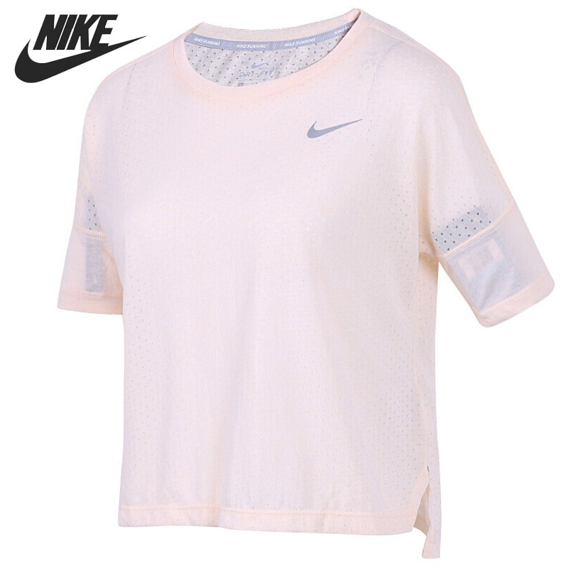Nueva llegada Original NIKE TAILWIND TOP SS COOL camisetas de mujer ropa deportiva de manga corta