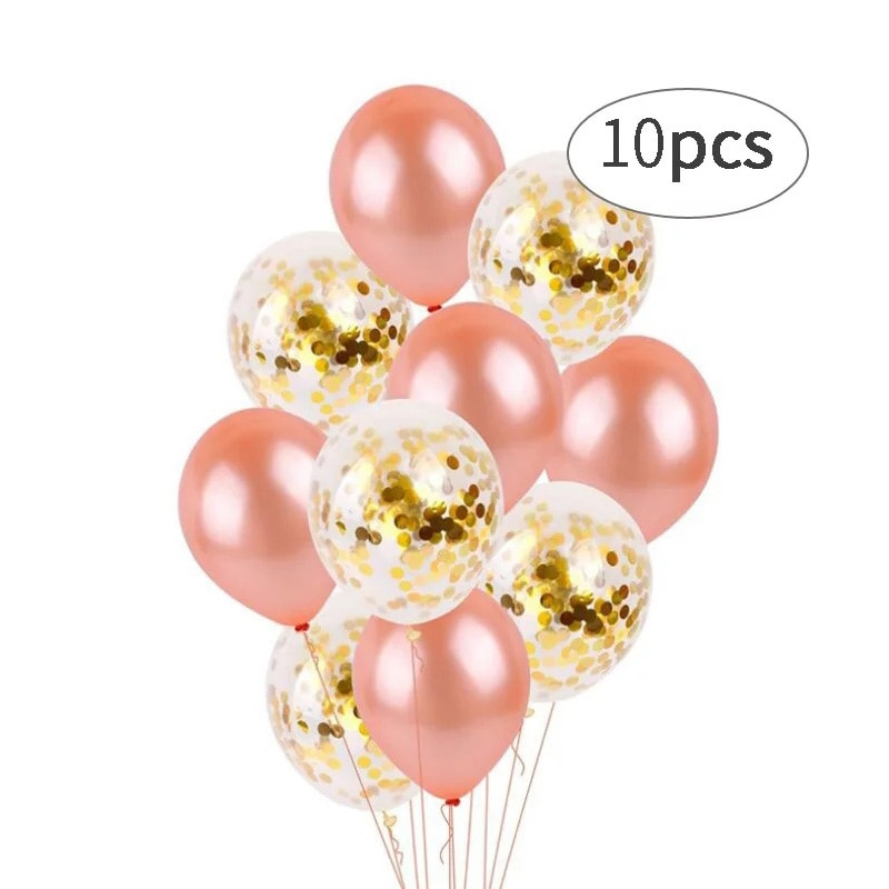 20 шт праздничные воздушные шары 10 дюймов розовое золото латексный шар плюс