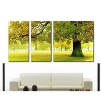 modern abstract oil painting on canvas guaranteed happy tree paintngs art free shipping home decor