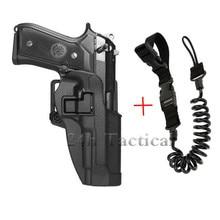 Tactical Military Combat Gun Belt Holster Airsoft Pistol Waist Holster For Beretta M9 92 96 Pistol