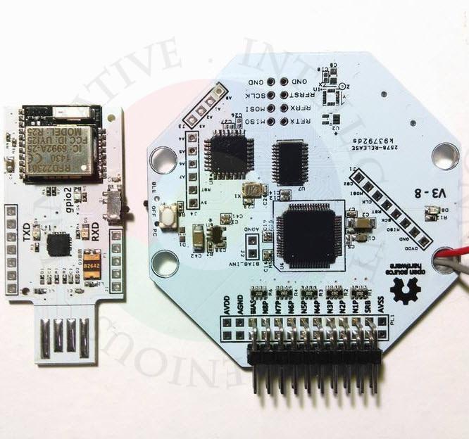 OpenBCI V3 8bit código abierto EEG brain wave module-8 canales-versión oficial inalámbrica conexión WIFI