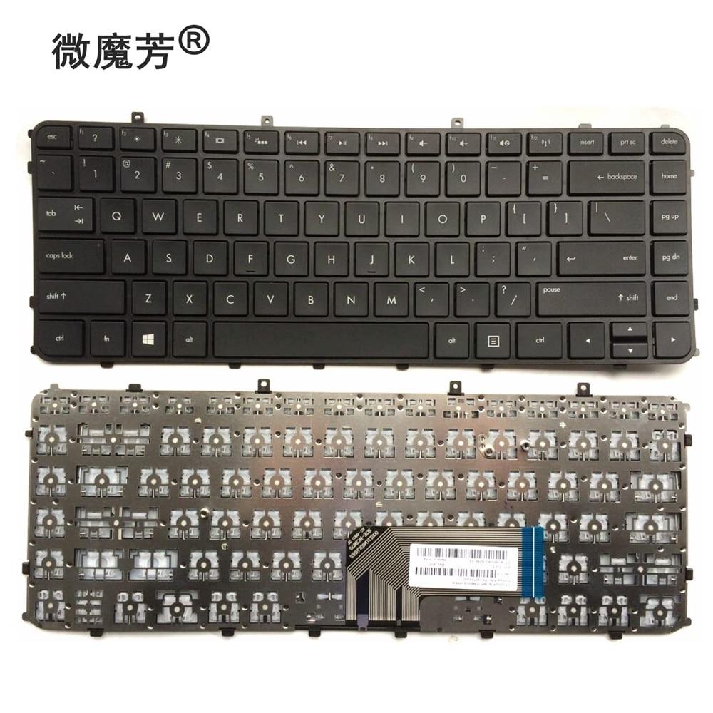Английская клавиатура для HP Envy 4 6 4-1000 4-1100 4-1200 6 6-1000 6-1100 6-1200 Envy 4-1030us 4-1130US 4-1115DX M4 M4-1000