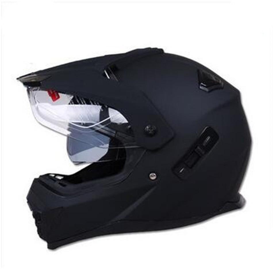 Новый мотоциклетный двойной объектив, мотоциклетный шлем для мотокросса, внедорожный шлем ATV, грязевой велосипед, горные MTB DH гоночный шлем, перекрестный шлем