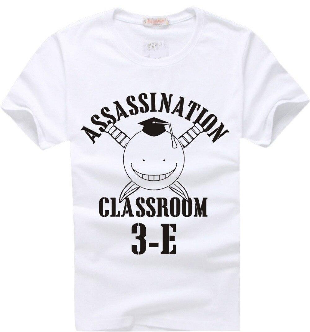 Assassination Classroom Ansatsu Kyoshitsu camiseta de cómic de animación de moda Cosplay