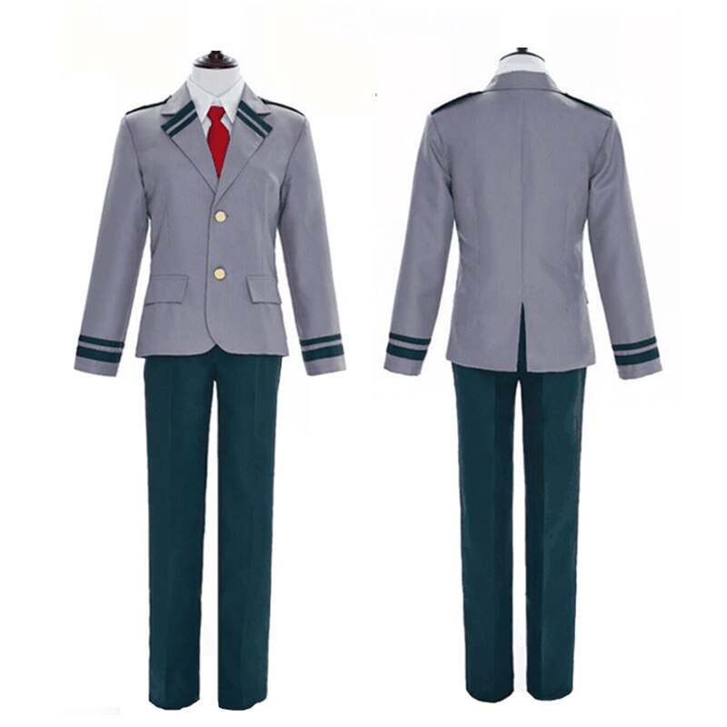 Traje de Cosplay de Anime Boku No Hero Academia Midoriya Izuku uniforme escolar My Hero Academia chaqueta pantalones camisa corbata hombres mujeres traje