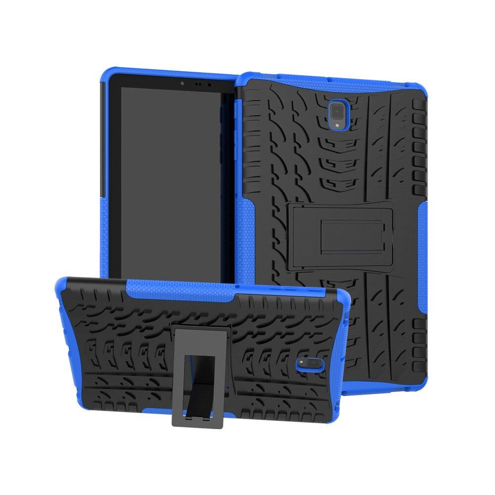 S4 robusto stand case Para Samsung Galaxy Tab 2018 10.5 polegada T830 SM-T835 Heavy Duty Funda Tablet 2 em 1 cobertura híbrido
