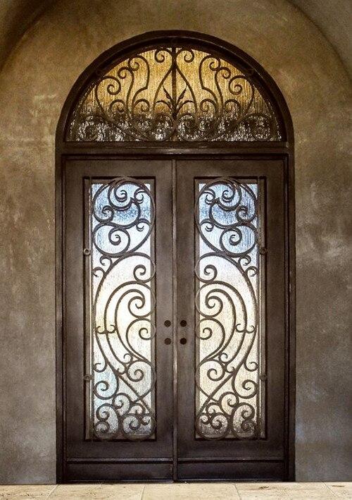 Porta da frente do pátio portas duplas portas francesas exterior para casas externo e quadro