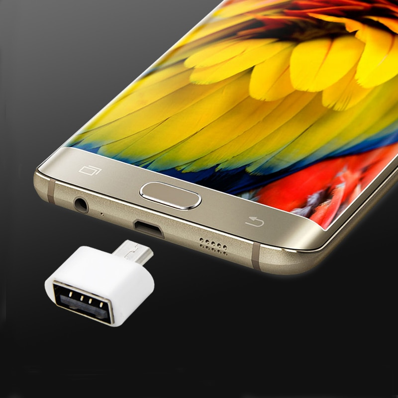 3 uds Micro USB macho a USB 2,0 Adaptador hembra OTG Convertidor...