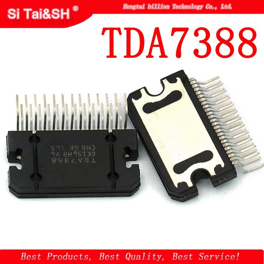 2pcs/lot TDA7388 7388 ZIP 4 X 41W Bridging car audio amplifier IC