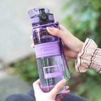 UZSPACE Negative Ion Sport Water Bottle Portable Lemon Juice Fruit Tea Shaker My Drink bottle Tritan Plastic 5 Capacity 5 Colors