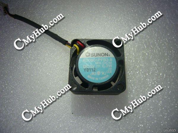 Para Dell Latitude C610 C640 Inspiron 4150 KD0501PFB3-8 DC5V 0,3 W 20x20x10mm 3Pin ventilador de refrigeración