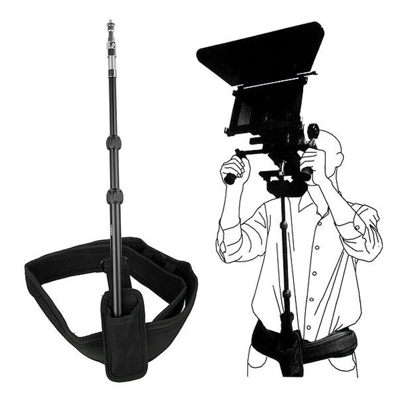 Cámara DSLR Rig soporte Rod/cinturón fit hombro Rig soporte cámara/videocámara DV/DSLR para Canon/Nikon
