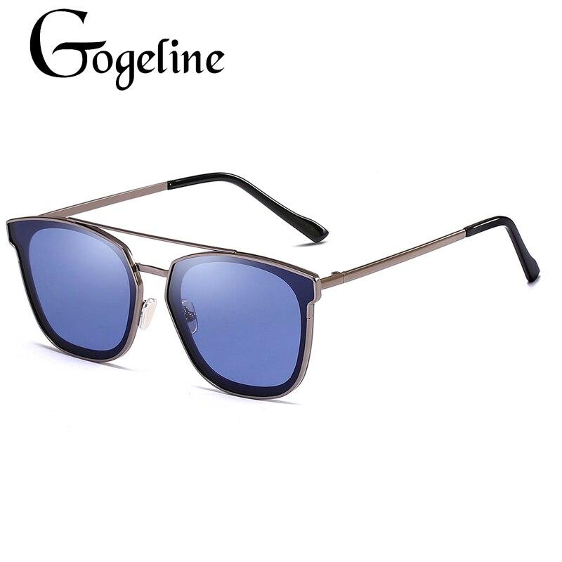 Vintage Square sunglasses for women men 2019 Fashion Unisex Shades Retro UV400 Red Green Blue Shades Metal frame Female Male