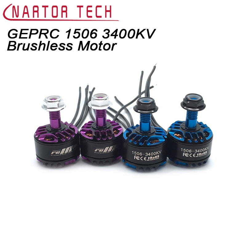 GEPRC 1506 3400KV 4100KV Brushless Motor FPV Small Motor for RC Model Airplane Spare Parts Quadcopter Multicopter Drone enlarge