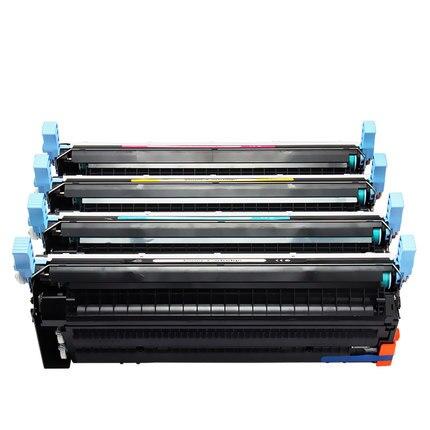 Compatible HP 643A Q5950A BK Q5951A C Q5952A Y Q5953A M cartucho de tóner de Color para la impresora HP Laserjet 4700 4700n 4700dn 4700dtn 4700ph +
