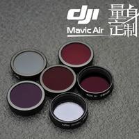 NiSi ND4 ND8 ND16 ND32 Natural Night CPL For DJI Mavic AIR Filter Kit