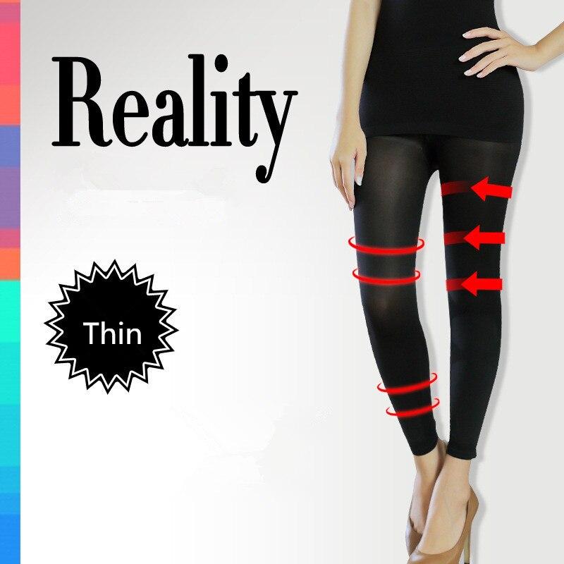 Beauty Care Stovepipe Socks Black Fat Burning Sock Stovepipe Pants Control Thin Abdomen Butt Lifter Women Slimming Shapewear
