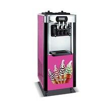 R22 gaz Commercial 3 saveur machine à crème glacée molle, Taylor machine à crème glacée cône doux servir fabricant de crème glacée
