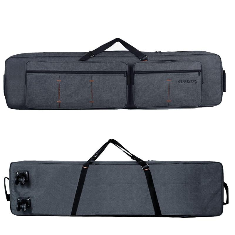 حقيبة ظهر احترافية بها 88 مفتاح لوحة مفاتيح ، حقيبة عضو إلكتروني ، حقيبة ظهر ناعمة ، حقيبة تخزين/بكرة