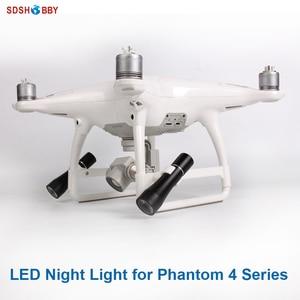 Светодиодный вспышка светильник Ночной Светильник лампы для DJI Phantom 4 серии аксессуар для беспилотных летательных аппаратов