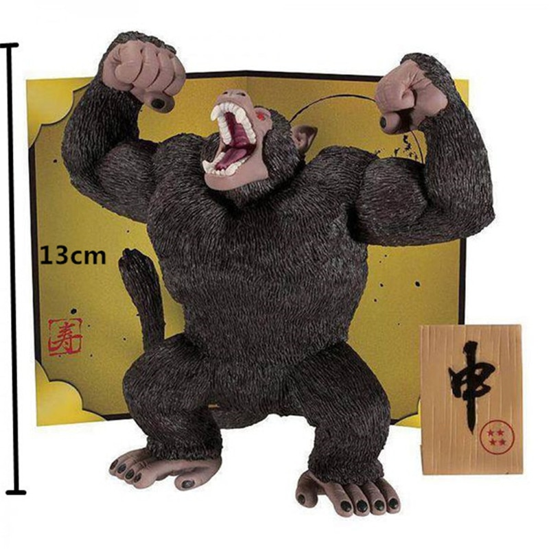 Dragon ball Z MSP Grote Great Apes Maanlicht Goku Super Gewelddadige Gorilla Premium Edition PVC Action Figure Collection Model Toy