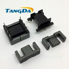 Tangda EFD20 Type 4+4pin 8P Bobbin magnetic core + skeleton ferrites High frequency Power Transformer housing AG