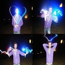 5 pièces/lot LED doigt lumières brillant éblouissement couleur Laser émettant des lampes noël mariage célébration Festival fête décor DS29