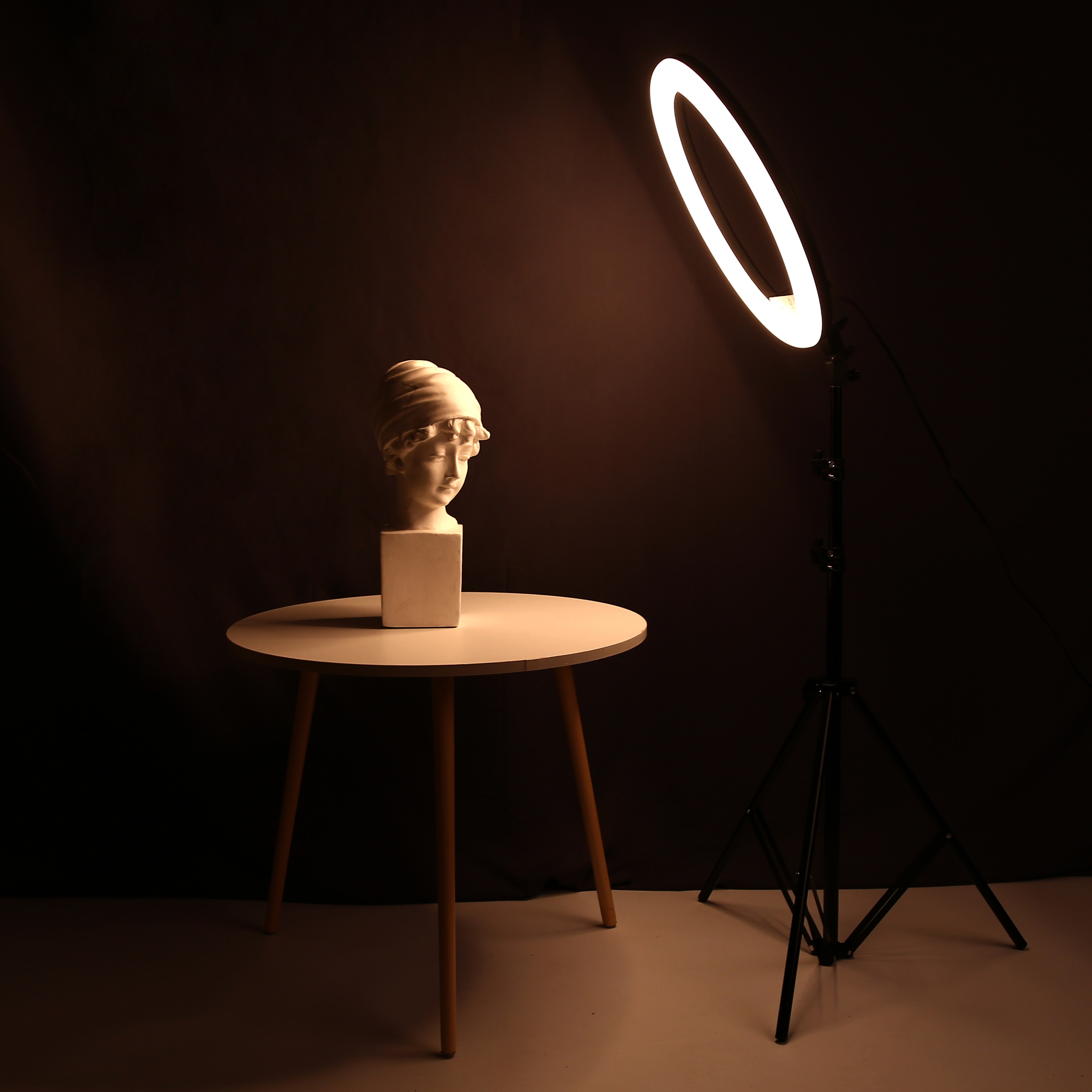 14/18inch Photo Studio lighting LED Ring Light  Large Ring Lamp With Stand Tripod for Phone Tiktok Youtube Portrait,Makeup,Video enlarge