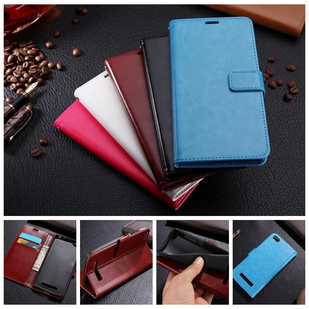 For Xiaomi Mi4i MI4C Case Retro Wallet Leather Flip Cover for Xiaomi M4i Mi 4i X9 / Mi4c Mi 4c Bag Stand Function Card Holder