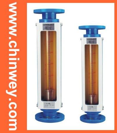 DN25 LZB -25 مقياس دوار زجاجي ، مقياس تدفق للسائل والغاز موصل ، يمكنه ضبط التدفق