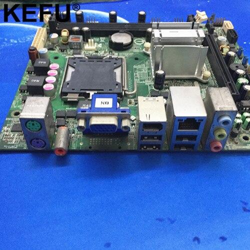 Материнская плата для настольных ПК MCP73S01 Irvine-GL6E, GF7100 5189-0652 492934-001, Mini-ITX, LGA 775, DDR2, идеально подходит для работы