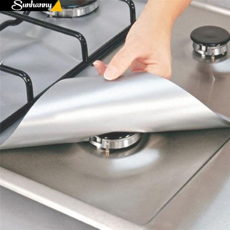 Sunhanny многоразовая тефлоновая безопасная антипригарная плита верхняя плита защита горелки вкладыш для очистки кухонного инструмента