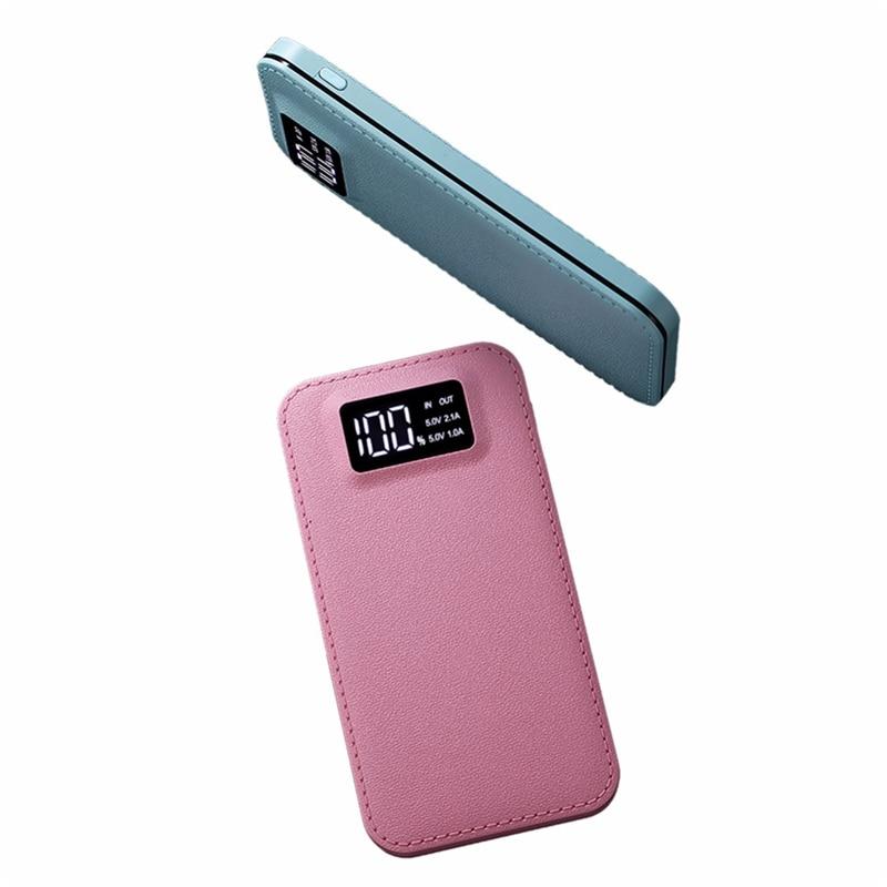 Power Bank 20000mah batería externa puertos USB duales Powerbank portátil cargador de batería de teléfono móvil para teléfonos tabletas