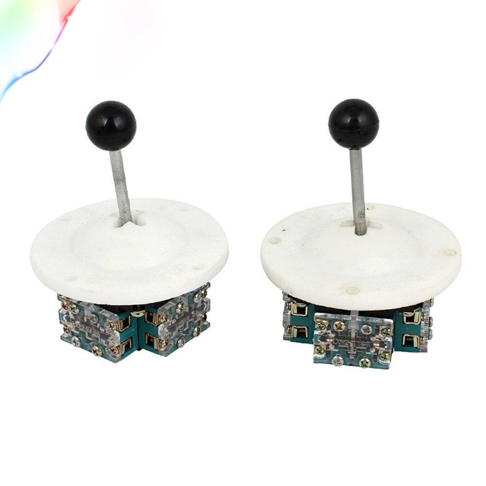 AC 380V 5A 8P4T enclavamiento Control de circuito electrónico interruptor con palanca de mandos